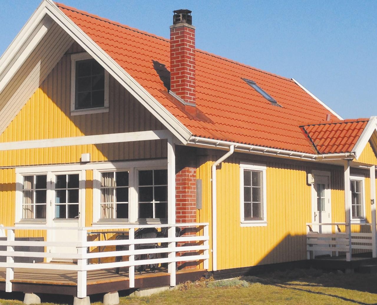 Schwedenhaus mit veranda  Ferienhaus Userin - Ferienhäuser am Useriner See - Badespaß und ...