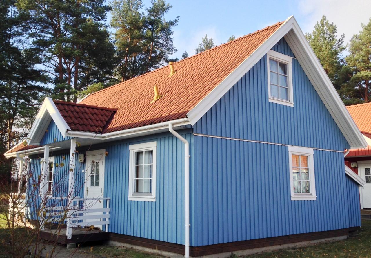 Blaue Häuser ferienhaus userin ferienhäuser am useriner see badespaß und